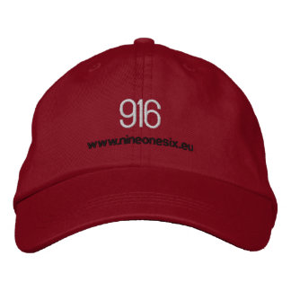 916 Embroidered Base Ball Cap