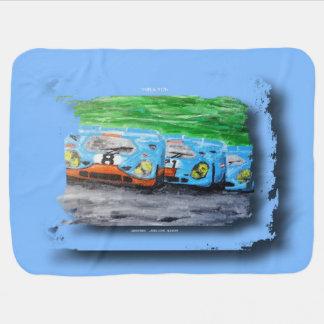 917 - Artwork Jean Louis Glineur Baby Blanket