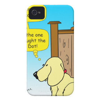 918 The cat that caught the red dot cartoon iPhone 4 Cover