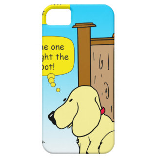 918 The cat that caught the red dot cartoon iPhone 5 Cases