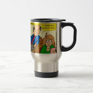 919 belt watch a dad joke cartoon travel mug