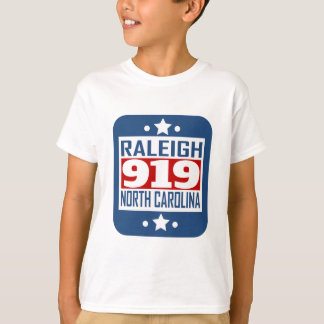 919 Raleigh NC Area Code T-Shirt