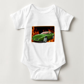 91_Green_Firehawk Baby Bodysuit