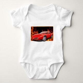 91_Red_Firehawk Baby Bodysuit