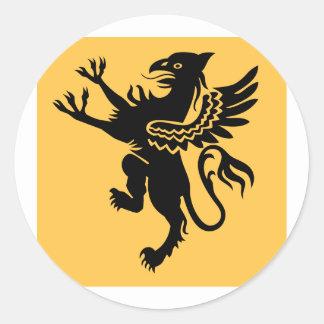91a squadriglia caccia, Italy Classic Round Sticker
