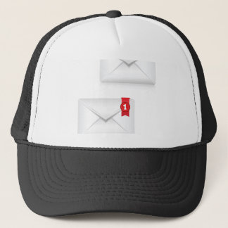 91Mailbox Alert Icon_rasterized Trucker Hat