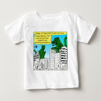 920 Monsters eat honor students for brain food Baby T-Shirt