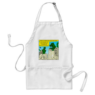 920 Monsters eat honor students for brain food Standard Apron