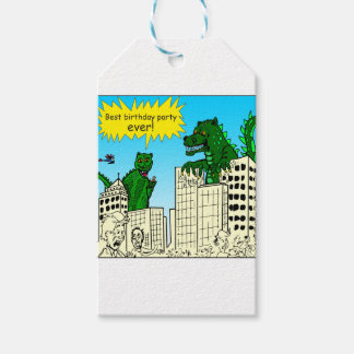 921 best birthday party ever monster said gift tags