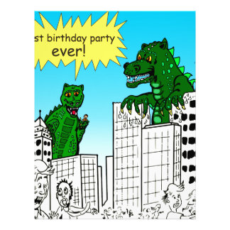 921 best birthday party ever monster said letterhead