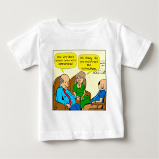 923 read the instructions couples cartoon baby T-Shirt