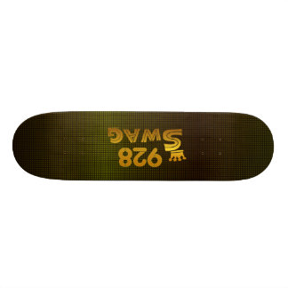 928 Area Code Swag Skate Board Deck
