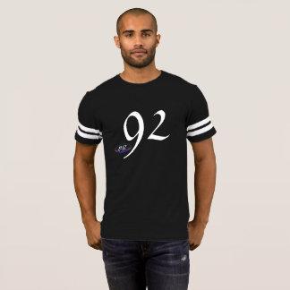 92 By BlakkOuttVisionz | Blk/Wht Jersey Shirt