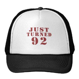 92 Just Turned Birthday Trucker Hat