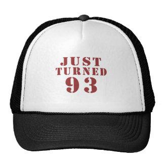 93 Just Turned Birthday Trucker Hat
