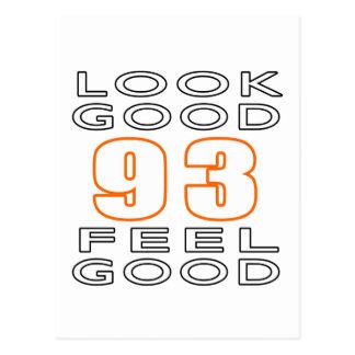 93 Look Good Feel Good Postcard