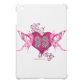 93 racing number butterflies case for the iPad mini