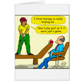 947 golf is just a game game card