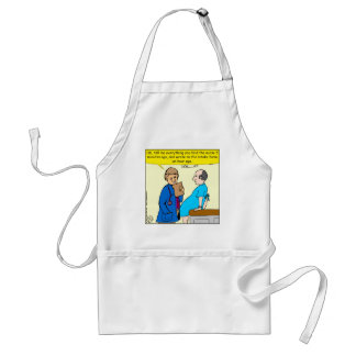 949 tell me everything you told the nurse cartoon standard apron