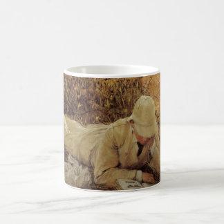 94 Degrees in the Shade, Sir Lawrence Alma Tadema Classic White Coffee Mug