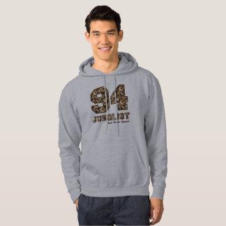 94 Junglist Camo Brown Hoodie