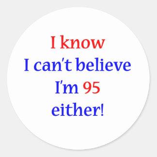 95 Either Round Sticker