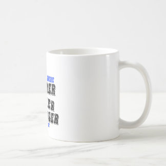 95 More Harder Faster Stronger With Age Coffee Mug