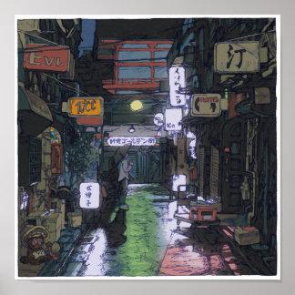 95: Shinjuku Golden Gai/Shinjuku Poster