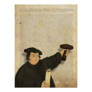 95 Theses Poster