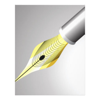 95Shiny Fountain Pen Nib_rasterized Letterhead