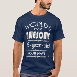 95th Birthday Worlds Best Fabulous Dark Blue T-Shirt