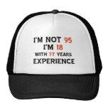 95th cool birthday designs mesh hat