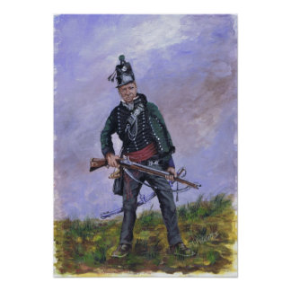 95th Rifles Poster