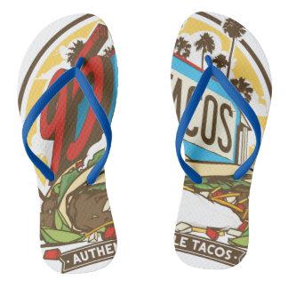 95th ST Tacos Flip Flops