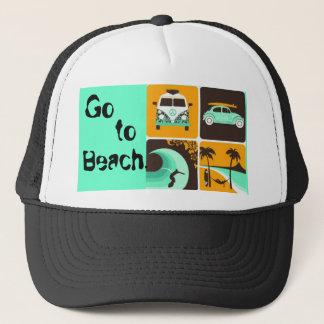 964206652, Go, you, Beach. Trucker Hat