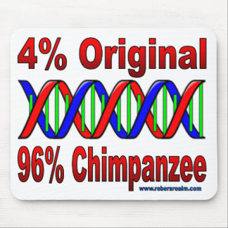 96% chimp mouse pad