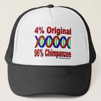 96% chimp trucker hat