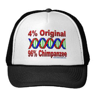 96% chimp trucker hat