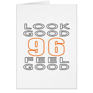 96 Look Good Feel Good Cards