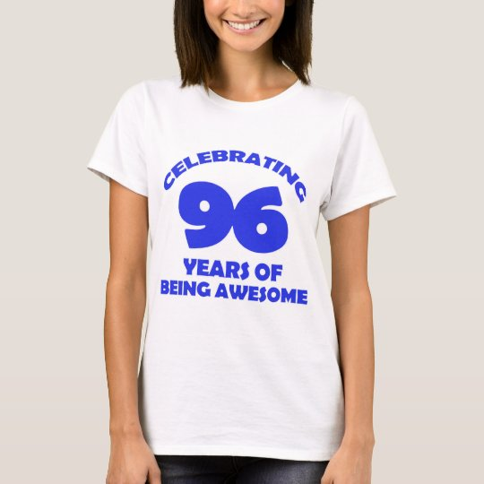 96 years old birthday designs T-Shirt