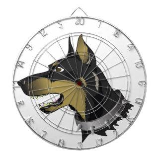 96Angry Dog _rasterized Dartboard