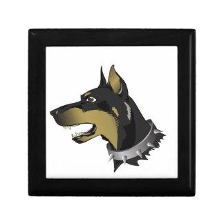 96Angry Dog _rasterized Gift Box