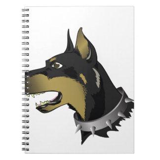 96Angry Dog _rasterized Notebooks