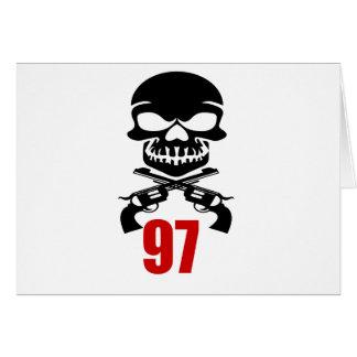97 Birthday Designs Card