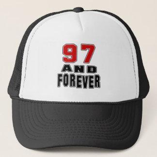 97 birthday designs trucker hat