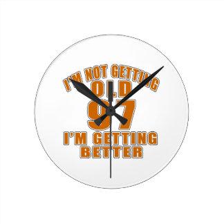 97 I Am Getting Better Clock