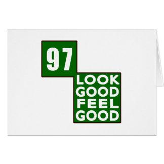 97 Look Good Feel Good Greeting Cards