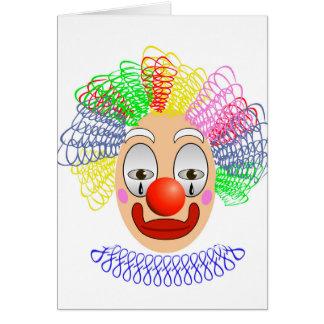 97Clown Head_rasterized Card