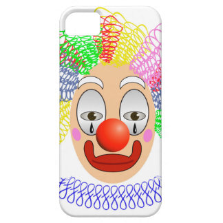 97Clown Head_rasterized iPhone 5 Cases