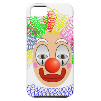 97Clown Head_rasterized iPhone 5 Cover